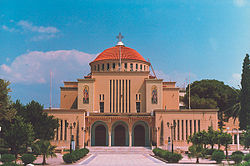 Greek Orthodox Cathedral of St. Paul the Apostle in Corinth, Greece