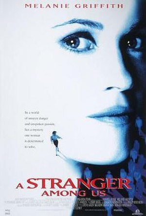 A Stranger Among Us - Theatrical release poster