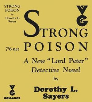 Strong Poison - First edition