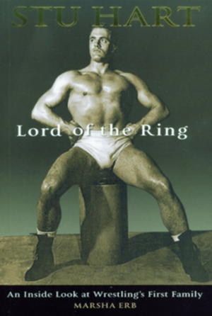 Stu Hart: Lord of the Ring - The second cover to the book, with Stu Hart at the Royal Navy gymnasium.