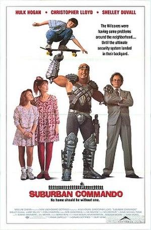 Suburban Commando - Image: Suburban Commando poster