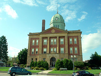 Sullivan, Illinois - Moultrie County Courthouse