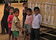 Tampuan children from Ratanakiri Province