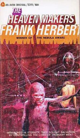 The Heaven Makers - Cover of first edition (paperback)