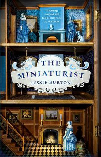 The Miniaturist - First edition (UK) with quotation from S. J. Watson