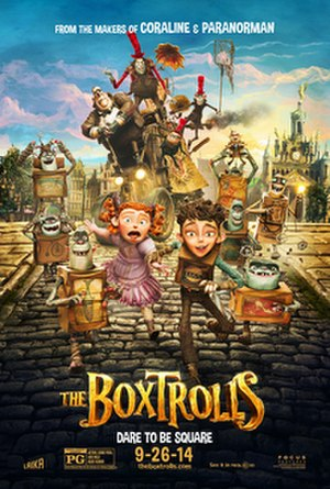 The Boxtrolls - Theatrical release poster
