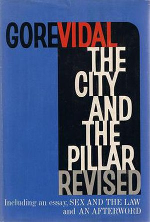 The City and the Pillar - First Edition cover of The City and the Pillar Revised