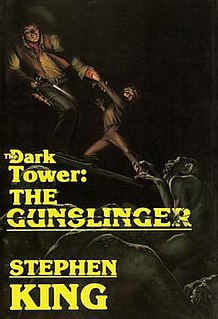 <i>The Dark Tower: The Gunslinger</i> novel by Stephen King