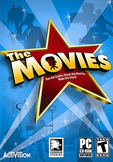 <i>The Movies</i> business simulation game