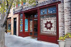 Rocky Mountain Quilt Museum - Image: The Rocky Mountain Quilt Museum