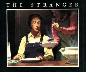 The Stranger (Van Allsburg book) - Cover