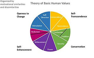 Theory of Basic Human Values theory of the basis of human cultural values