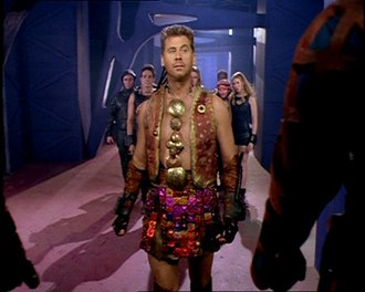 Lexx - Thodin and his fellow Heretics on the Cluster