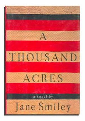 A Thousand Acres - Hardcover first edition cover