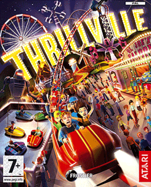 Thrillville - European cover art