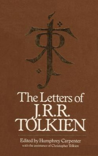 The Letters of J. R. R. Tolkien - Dust wrapper of UK first edition