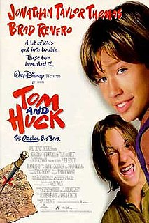 <i>Tom and Huck</i> 1995 film produced by Walt Disney Pictures