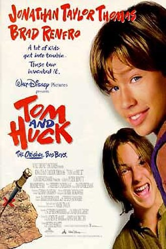 Tom and Huck - Theatrical release poster