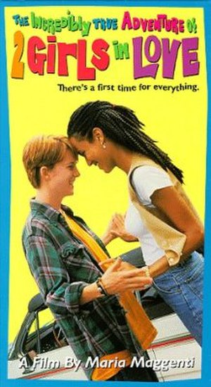 The Incredibly True Adventure of Two Girls in Love - Laurel Holloman (L) and Nicole Ari Parker in the movie poster