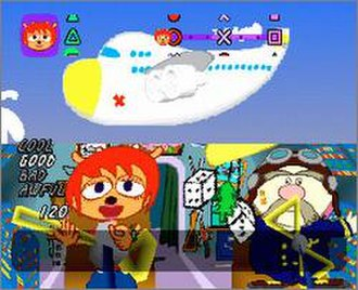 Um Jammer Lammy - Level four of the game.