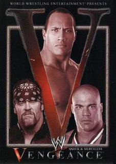 Vengeance (2002) 2002 World Wrestling Entertainment pay-per-view event