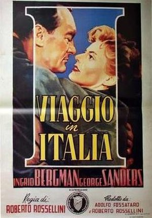 Journey to Italy - Theatrical release poster