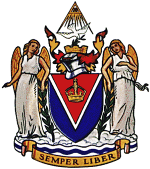 Coat of arms of Victoria, British Columbia - Image: Victoria BC COA