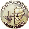 Official seal of Warren, Connecticut