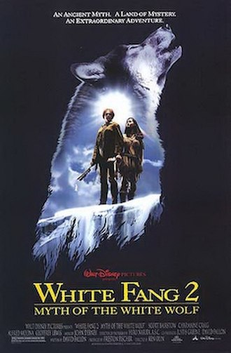 White Fang 2: Myth of the White Wolf - Promotional film poster