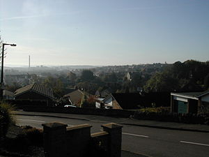 Whitwell, Derbyshire - View over Whitwell