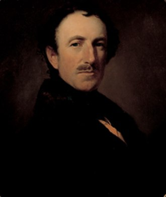 William Drummond Stewart - William Drummond Stewart, 1844 by Henry Inman