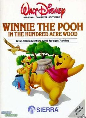 Winnie the Pooh in the Hundred Acre Wood - Image: Winnie the Pooh in the Hundred Acre Wood cover