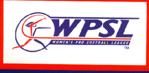 1999 Women's Pro Softball League season - Image: Women's Pro Softball League logo