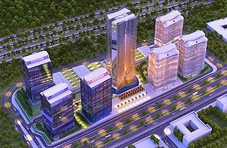 World Trade Centre Abuja - Rendition of the complex
