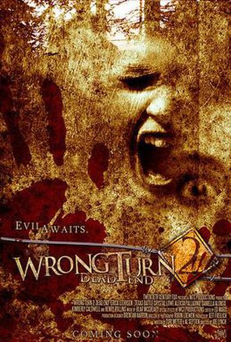 Wrong Turn 2: Dead End - Promotional poster