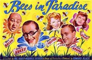Bees in Paradise - British trade ad