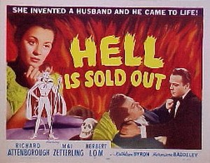 Hell Is Sold Out - Lobby card