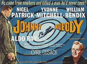 Johnny Nobody - British quad poster