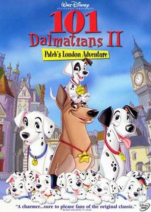 101 Dalmatians II: Patch's London Adventure - DVD cover