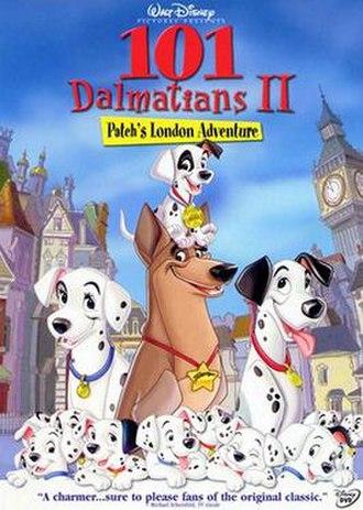 101 Dalmatians II: Patch's London Adventure - DVD cover
