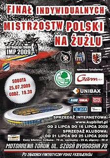2009 Individual Speedway Polish Championship
