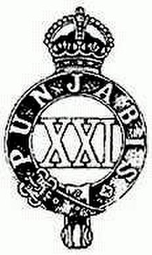 category british colonial regiments wikivisually Us Army Infantry 21st punjabis image 21st punjabis infantry regiment regimental badge