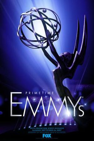 59th Primetime Emmy Awards - Promotional poster