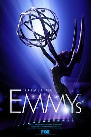 59th Primetime Emmy Awards - Promotional poster