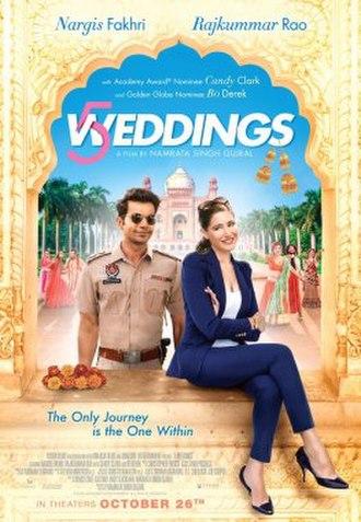 5 Weddings - Image: 5 Weddings Poster
