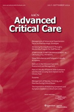 AACN Advanced Critical Care - Image: AACN Advanced Clinical Care low res cover