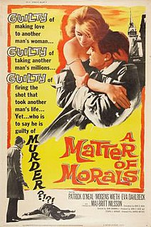 <i>A Matter of Morals</i> 1961 film by John Cromwell