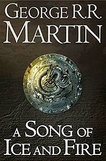 <i>A Song of Ice and Fire</i> Series of epic fantasy novels by George R. R. Martin