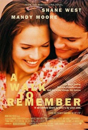 A Walk to Remember - Theatrical release poster