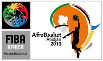 AfroBasket 2013 - Image: Afro Basket 2013 logo